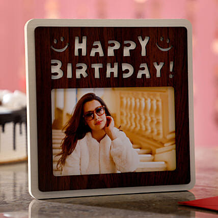Birthday Wishes For Her Photo Frame