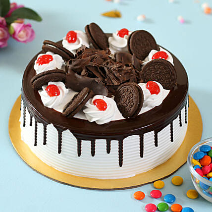 Oreo Cake Online For Her:Send Black Forest Cake
