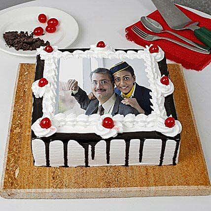 Personalised Photo Cake for Father's Day:Fathers Day Photo Cakes