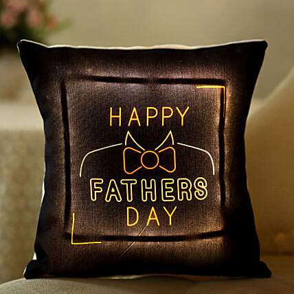 printed led cushion for dad