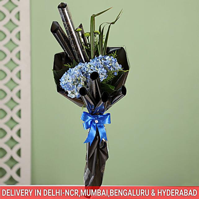 lovely hydrangea flowers online