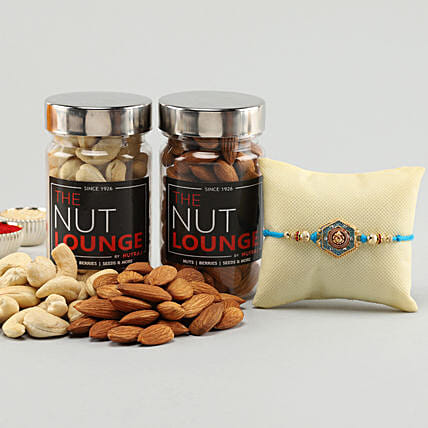 Online Rakhi and Dry Fruits Combo:Rakhi With Other Gifts