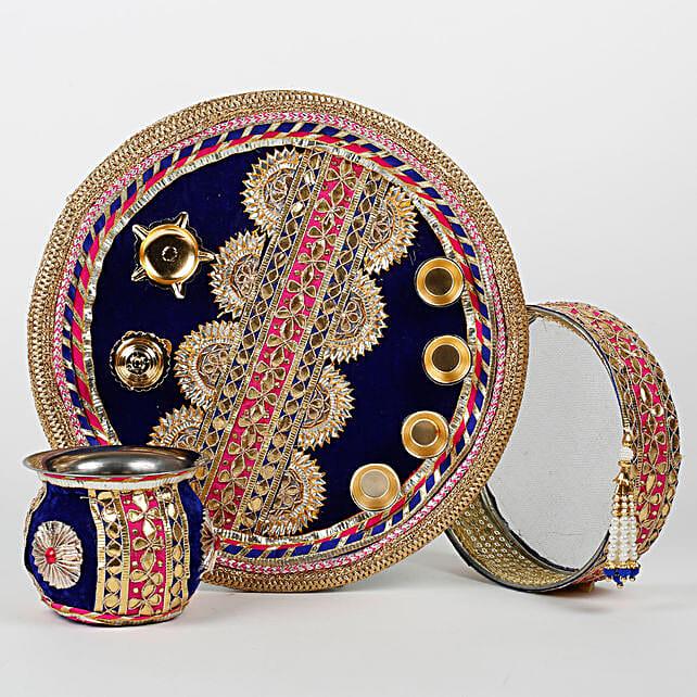 special karwa chauth thali set
