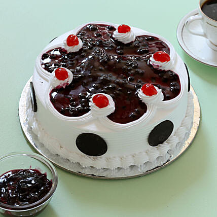 Online Creamy Blueberry Cake:Blueberry Cakes