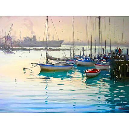 Boats Personalised Painting