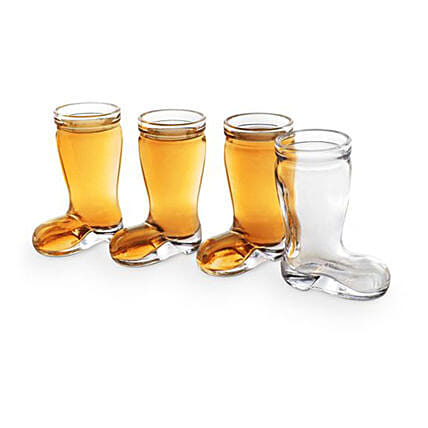 Boot Shaped Tumbler Glasses