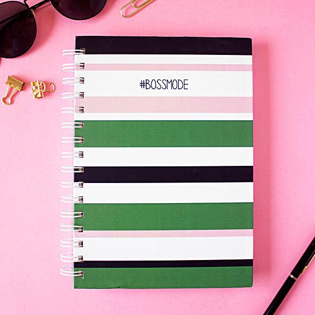 Bossmode Notebook Crepe