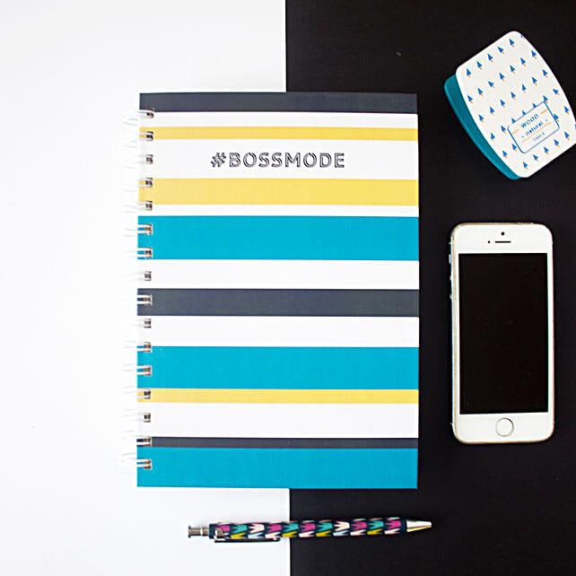 Bossmode Notebook Pewter