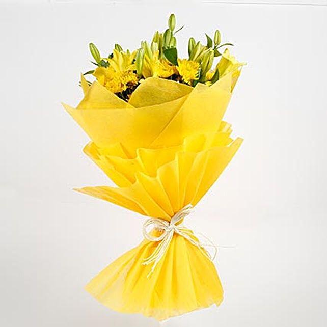 elegant asiatic lilies bouquet online