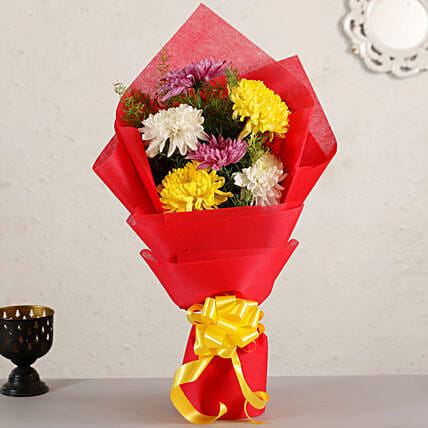 Bright Chrysanthemum Bouquet