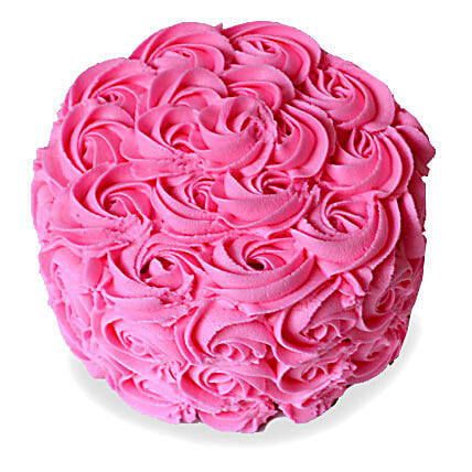 Brimming With Roses Cake 4kg Eggless Vanilla