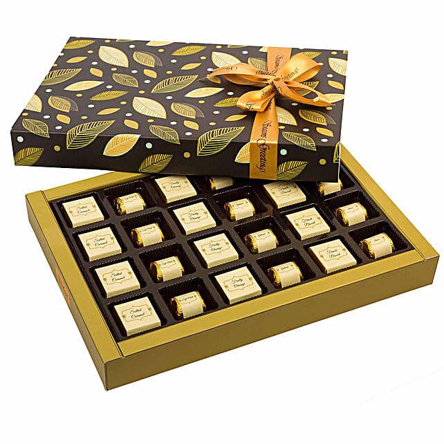 Chocolate Box with Rakhi