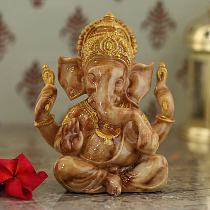 spiritual ganesha idol:Send Home Decor for Diwali