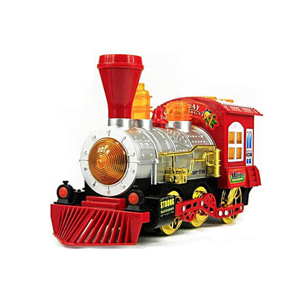 Bubble Blowing Toy Train Online