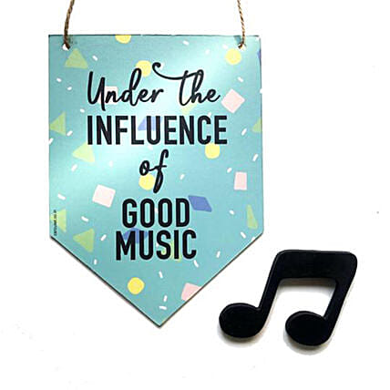 Music Quote Bunting Online:Wall Clocks