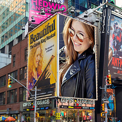 Digital Personalised Billboard E-Poster
