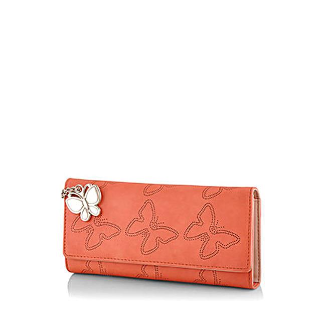Cute Orange Wallet