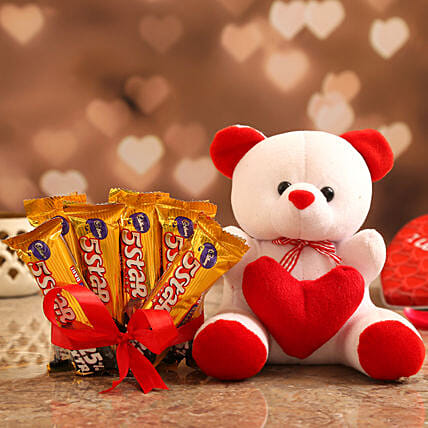 Valentine's Special Cute Gift Combo for Her