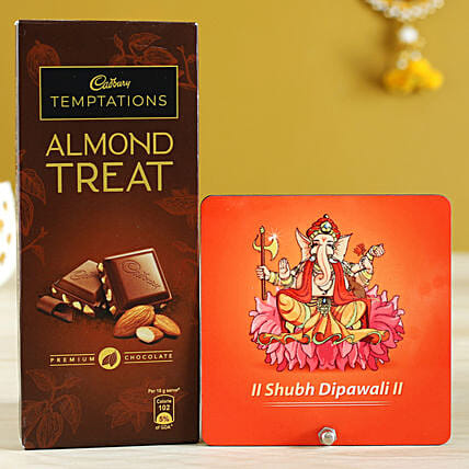 Almond Treat & Ganesha Table Top
