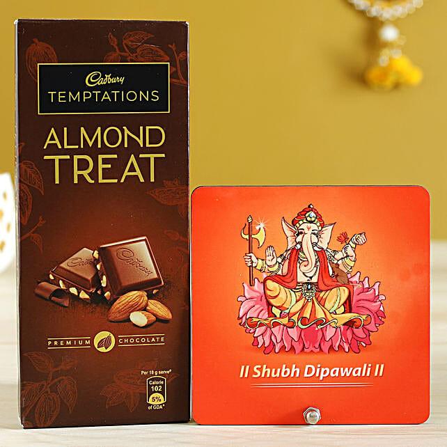 Almond Treat & Ganesha Table Top