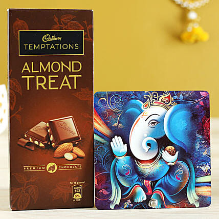 Almond Treat & Lord Ganesha Table Top