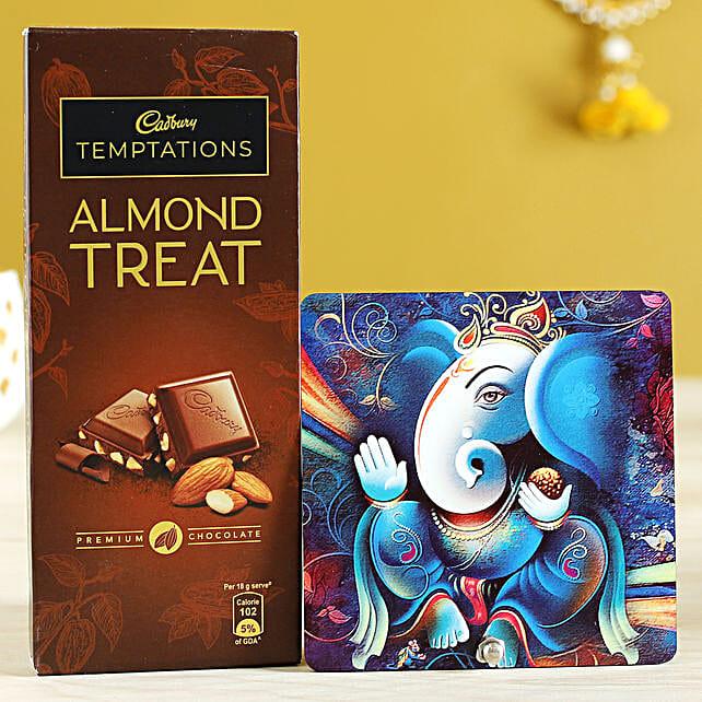 Almond Treat & Lord Ganesha Table Top