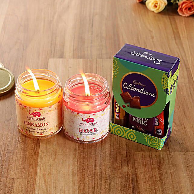 Cadbury Celebrations Perfumed Jar Candles