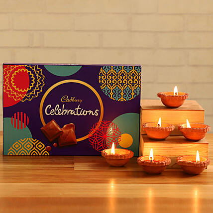 Cadbury Celebrations With Diyas:Send Cadbury Chocolates