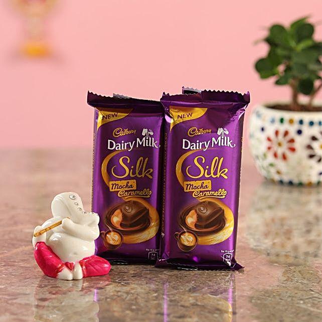 Cadbury Chocolates Magenta Ganesha Idol