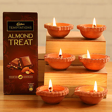 Cadbury Temptations Almond Treat Festive Diyas:Buy Cadbury Chocolates