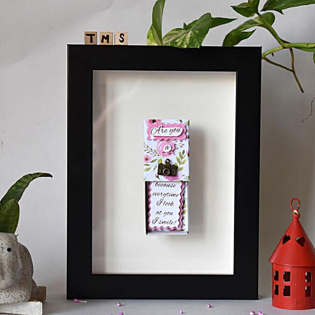 Camera Fridge Magnet Matchbox:Send Handicraft Gifts for Diwali