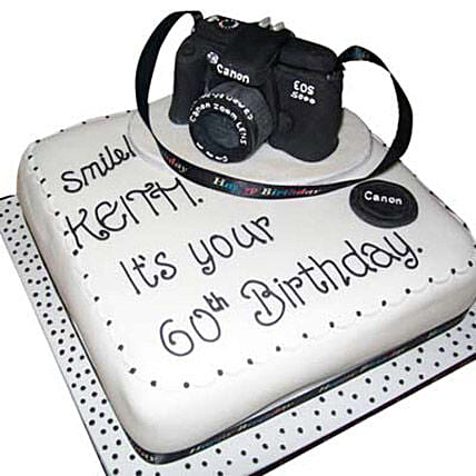 Canon Camera Cake 4kg by FNP