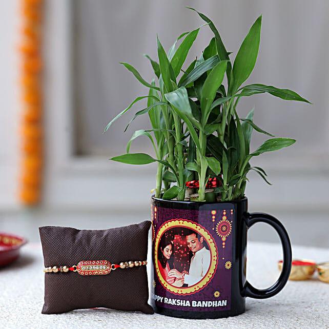 raksha banana personalised plant combo