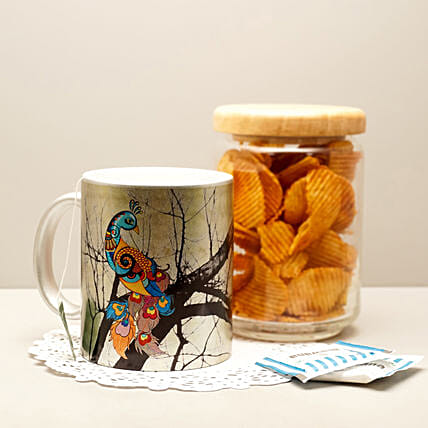 Online Charismatic Silver Mug:Handcrafted Gifts