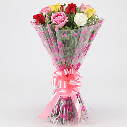 Bunch of Mixed Flower Online:Wedding Gifts