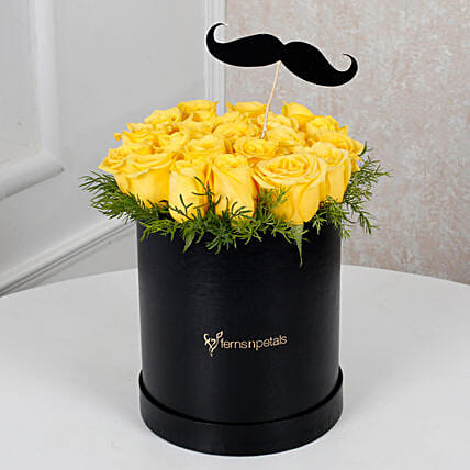 Flower Arrangement for him:Yellow Flowers