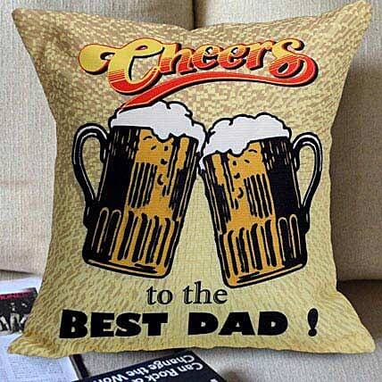Father's Day Special Printed Cushion