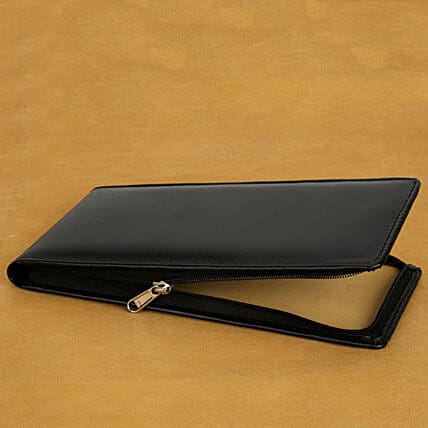 Cheque book holder:Send Leather Gifts