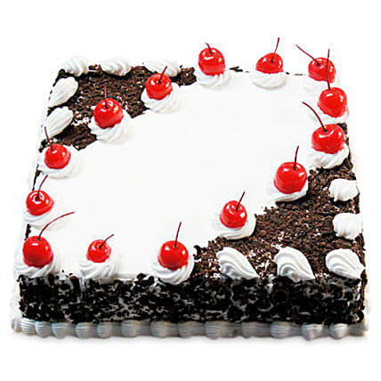 Cherry Blackforest Cake Half kg:Send Black Forest Cake