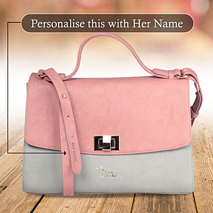 Pink Satchel Bag Online