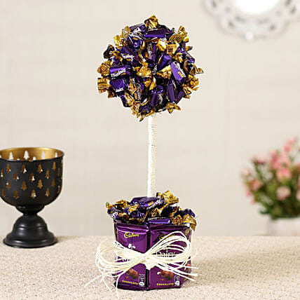 Choclairs & Dairy Milk  Bouquet:Candies
