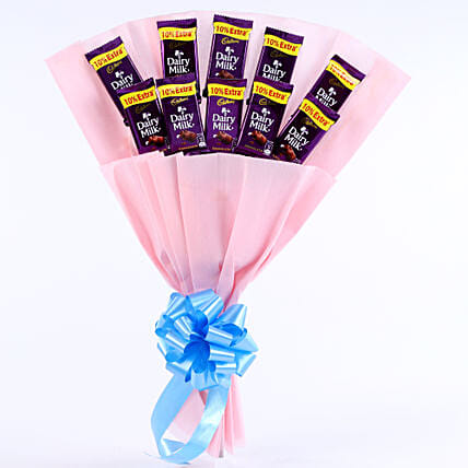 Cadbury Chocolate Bouquet chocolates womens day women day woman day women's day:Gifts for Taureans