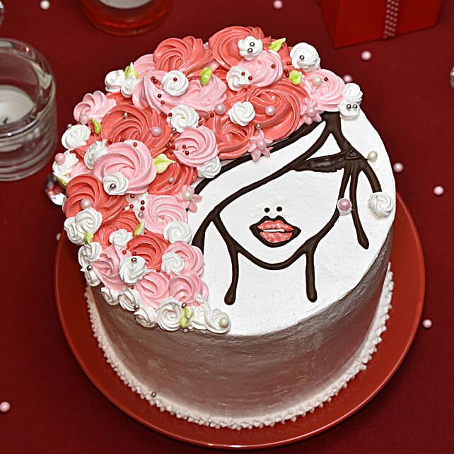Choco Lady Designer Cake