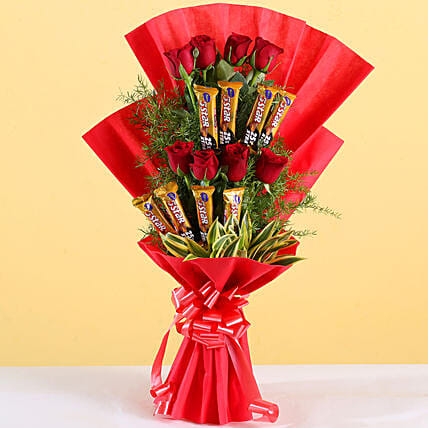 Choco Rose Bouquet:New Arrival Chocolates