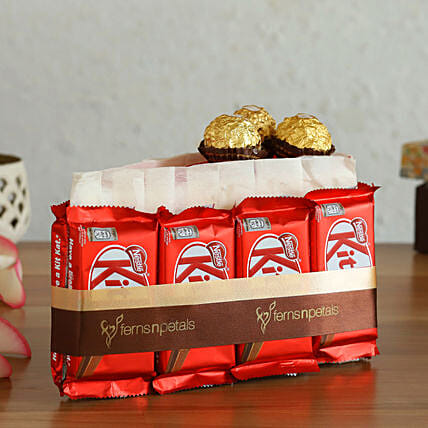 Choco Slice Kitkat Arrangement