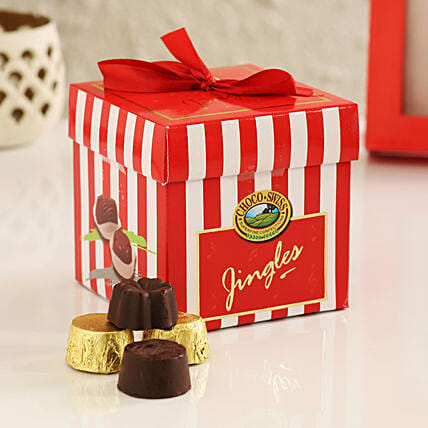 online choco jingles box:Handmade Chocolate Box