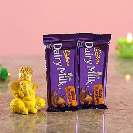 Chocolate Bars Yellow Ganesha Combo:Buy Cadbury Chocolates