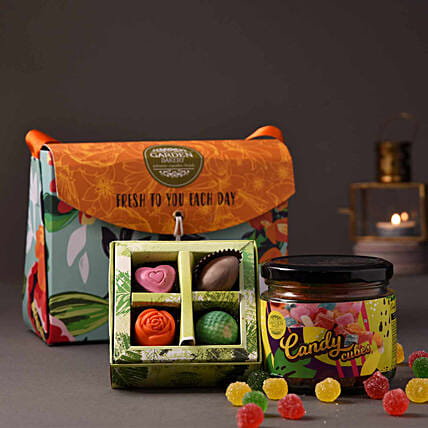 chocolate with candy jar online