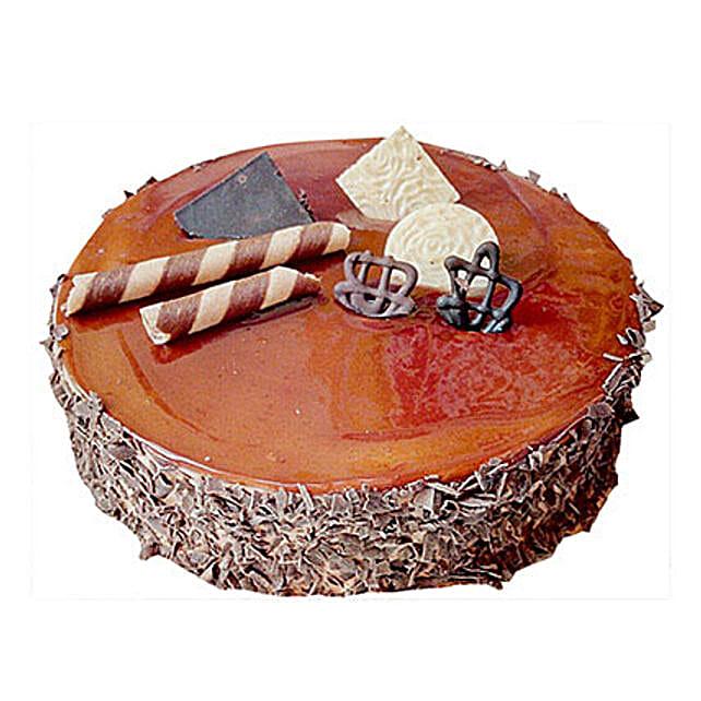 Chocolate Caramel Cake Half Kg