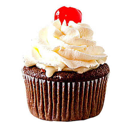 Chocolate Cherry Cupcake 6